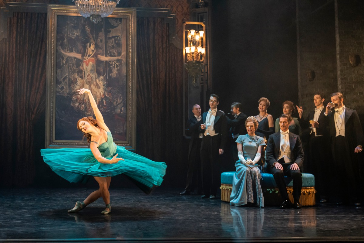 MATTHEW BOURNE'S PRODUCTION OF THE RED SHOES. Ashley Shaw 'Victoria Page' & Company. Photo by Johan Persson