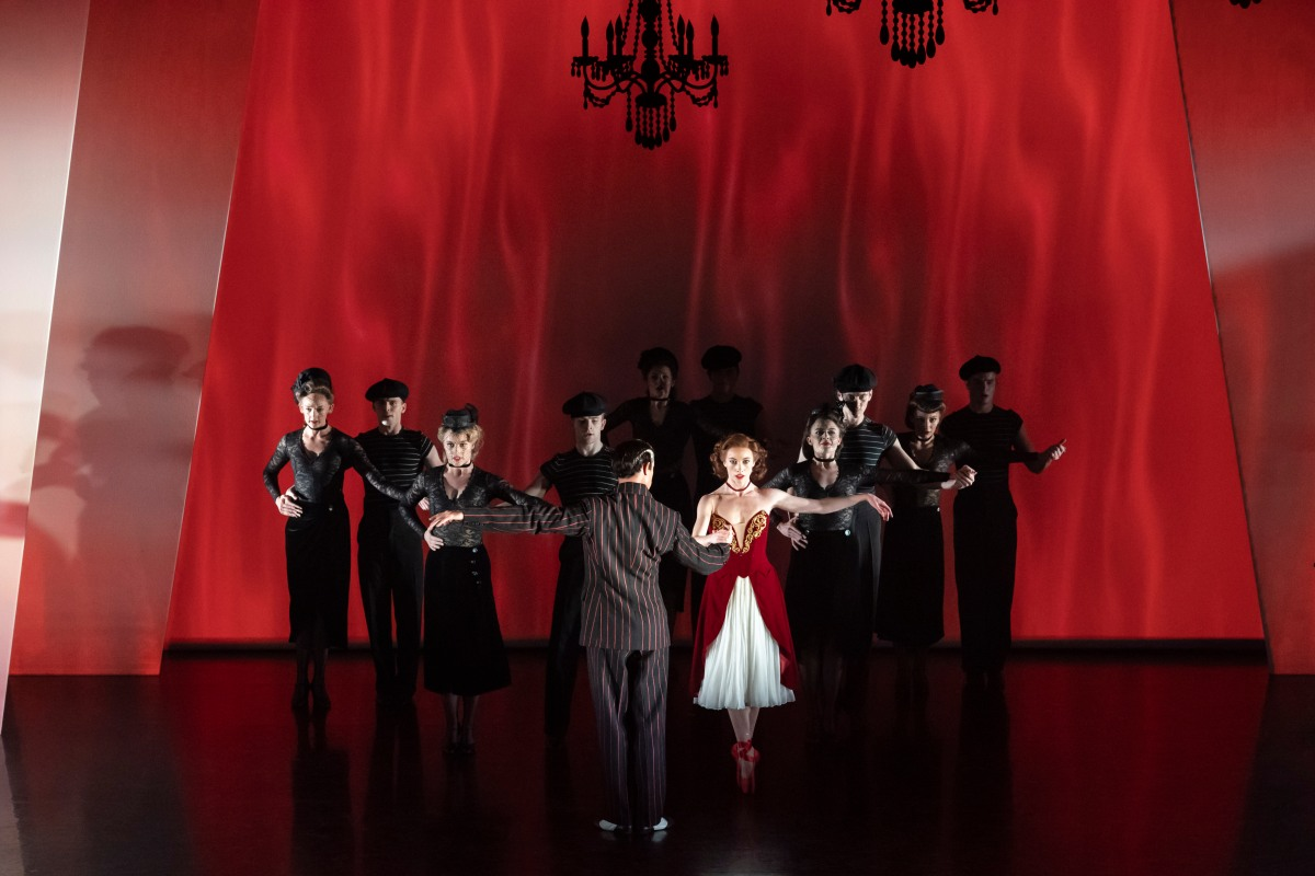 MATTHEW BOURNE'S PRODUCTION OF THE RED SHOES. Cordelia Braithwaite 'Victoria Page' & Company. Photo by Johan Persson (2)